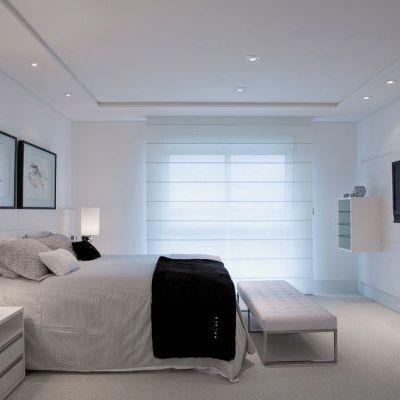 die besten 25 cortina quarto ideen auf pinterest cortina persiana para quarto vorhang ber. Black Bedroom Furniture Sets. Home Design Ideas