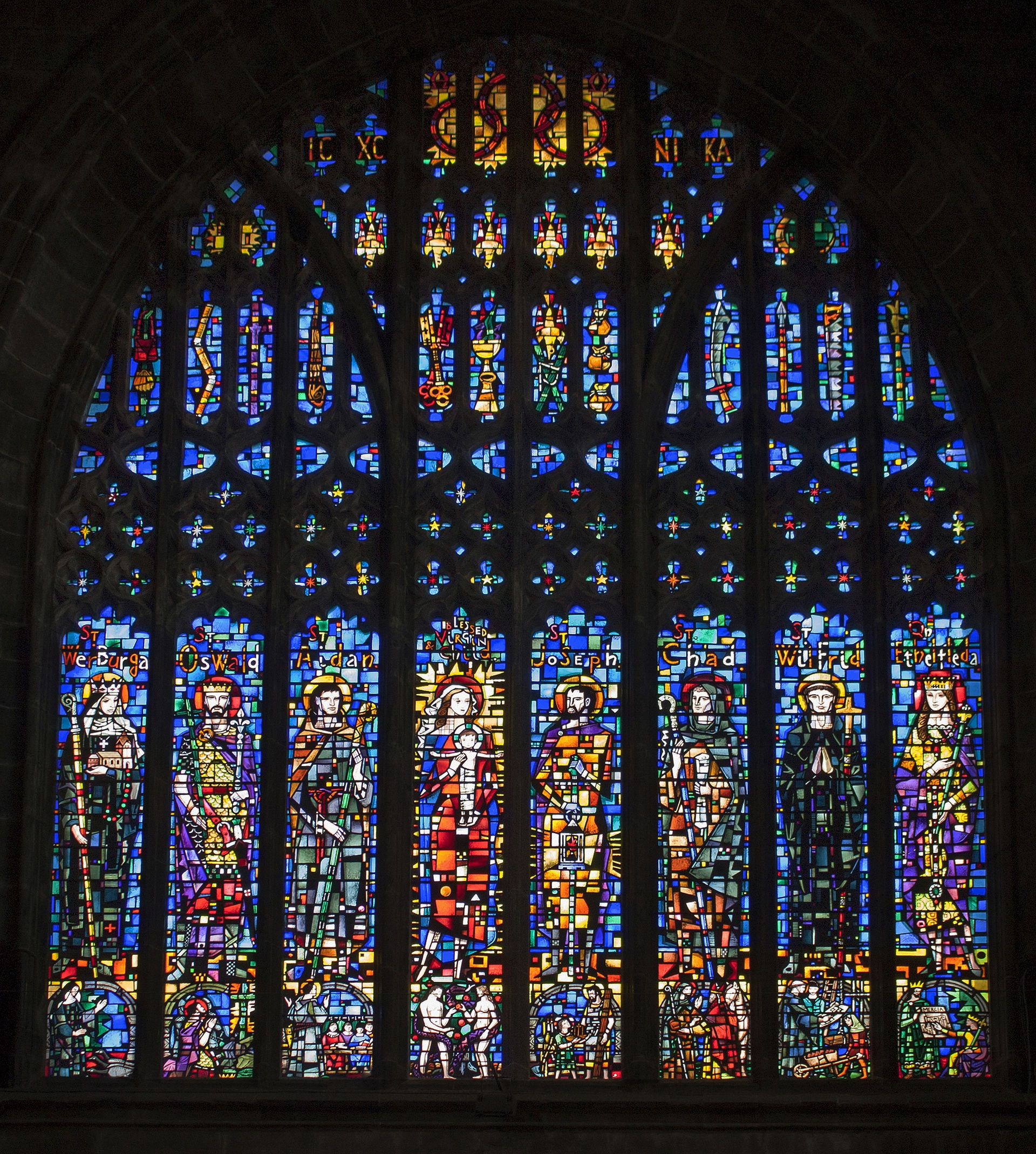 Chester Cathedral Chester Cathedral Cathedral Medieval Stained Glass