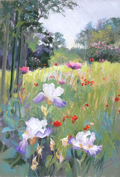 Margaret Evans Scotland Soft Pastel Art Painting Art Evans Art