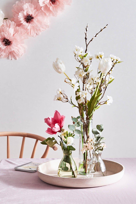 Blumen Perfekt Auf Tablett Gebracht Blumenliebe Dekotablett