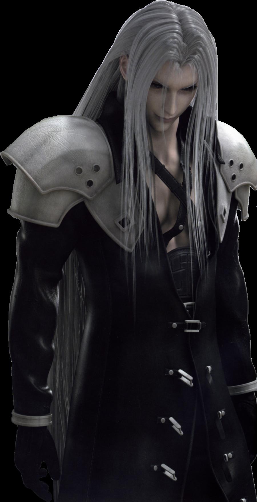 Sephiroth Render By Oxosephirothoxo Deviantart Com On