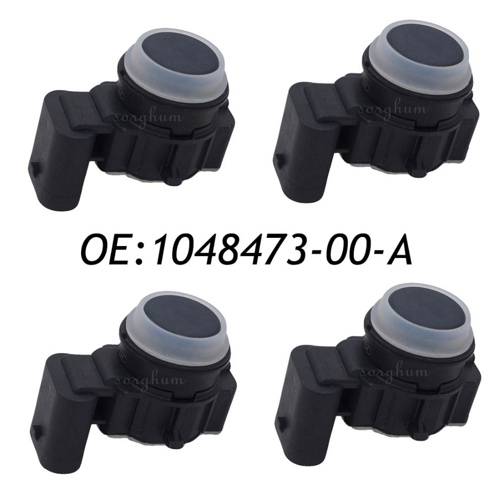 4pcs Pdc Parking Distance Control Sensor For Telsa Model S 1048473 00 A 0263033336
