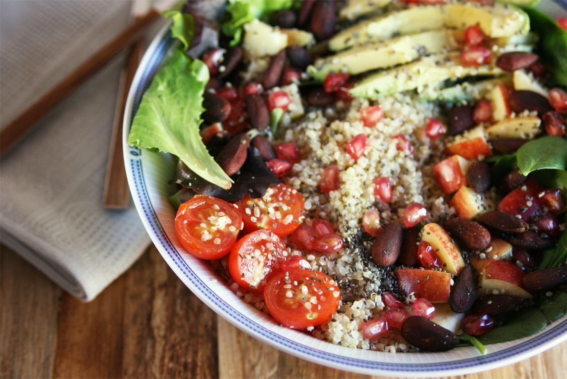 Receta: Ensalada detox de quinoa -