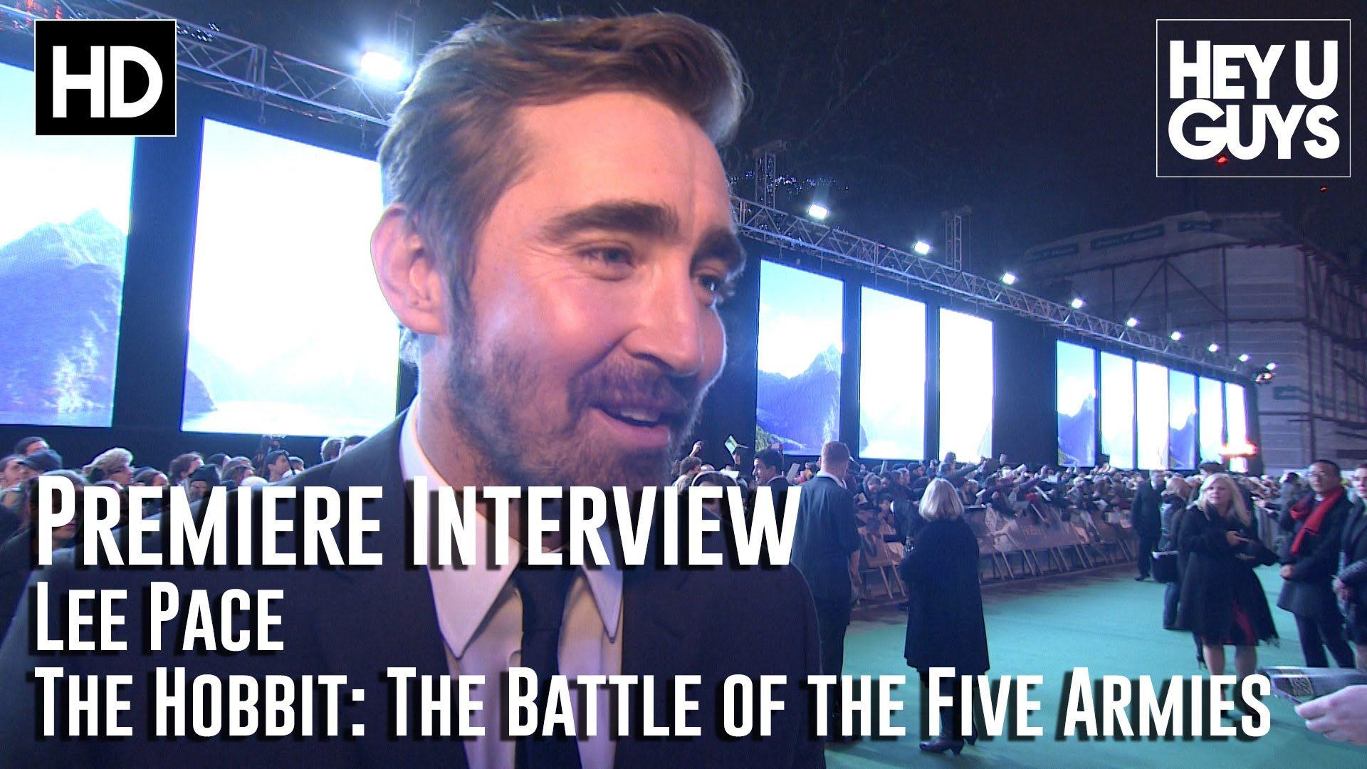 Lee Pace Interview - The Hobbit: The Battle of the Five Armies Premiere