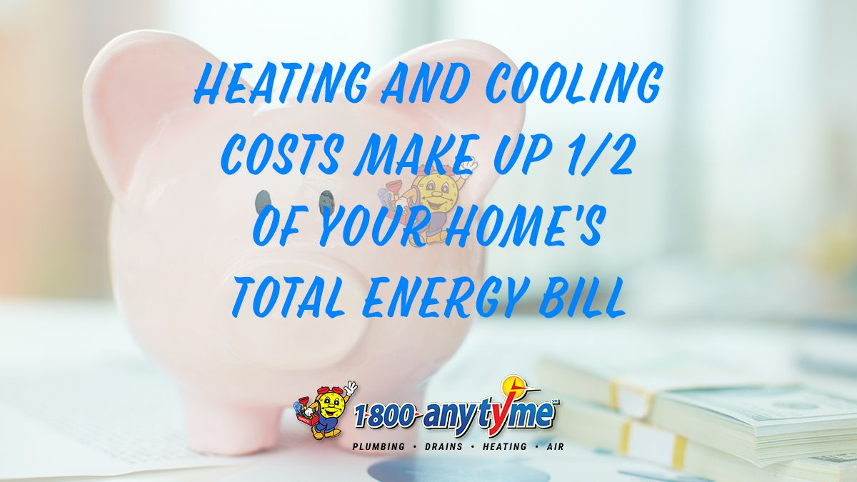 Heating And Cooling Costs Make Up Half Of Your Home S Total Energy