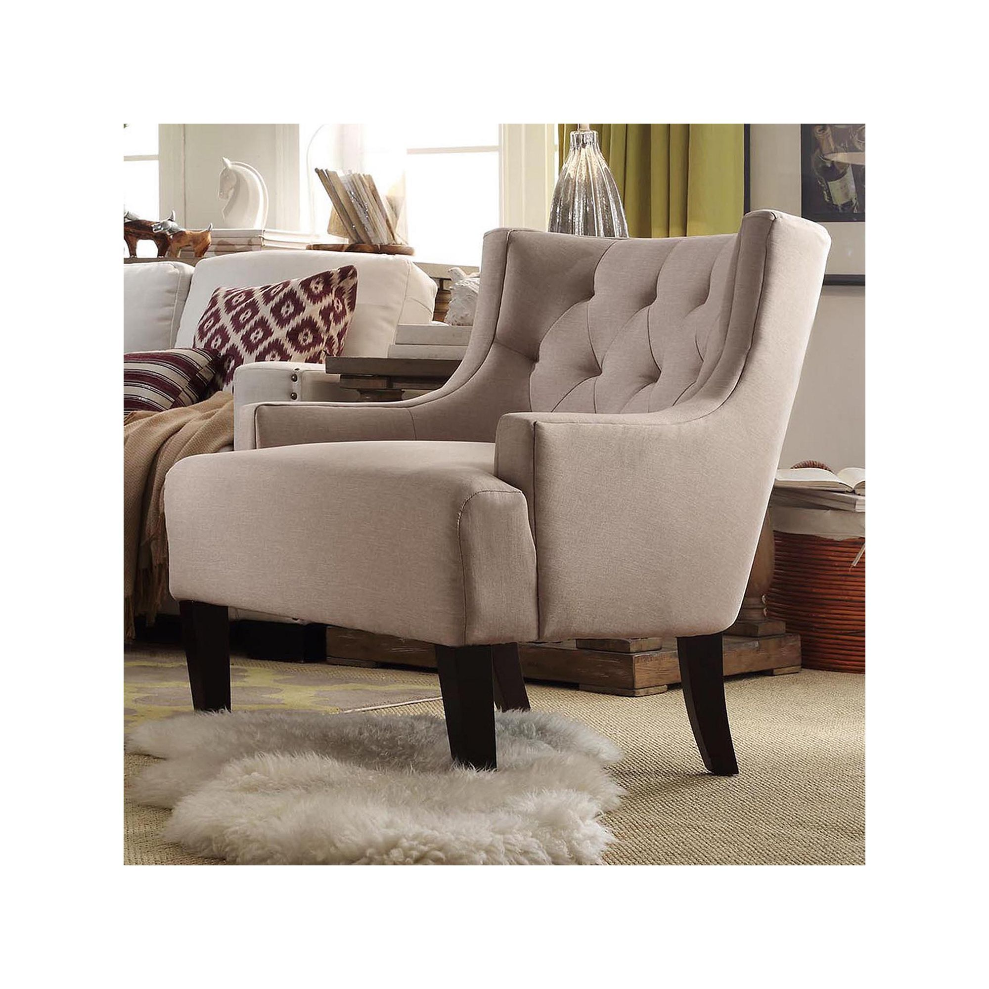 homevance kingston tufted barrel wingback chair wingback chairs
