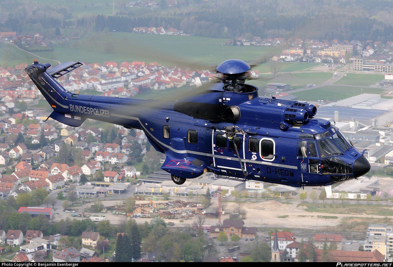 DHEGW Bundespolizei (Federal Police) Aérospatiale AS