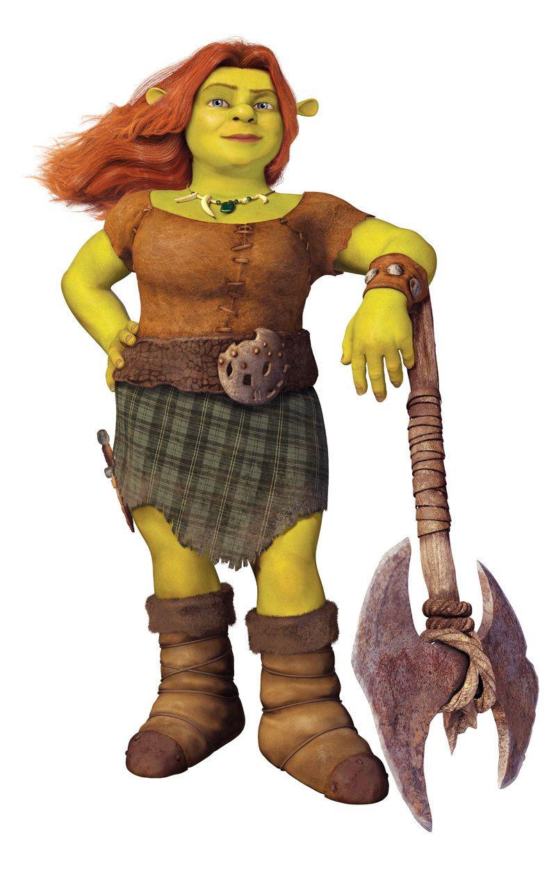 Warrior Fiona From Shrek Forever After Fiona E Sherek Personagem Shrek Personagens De Filmes