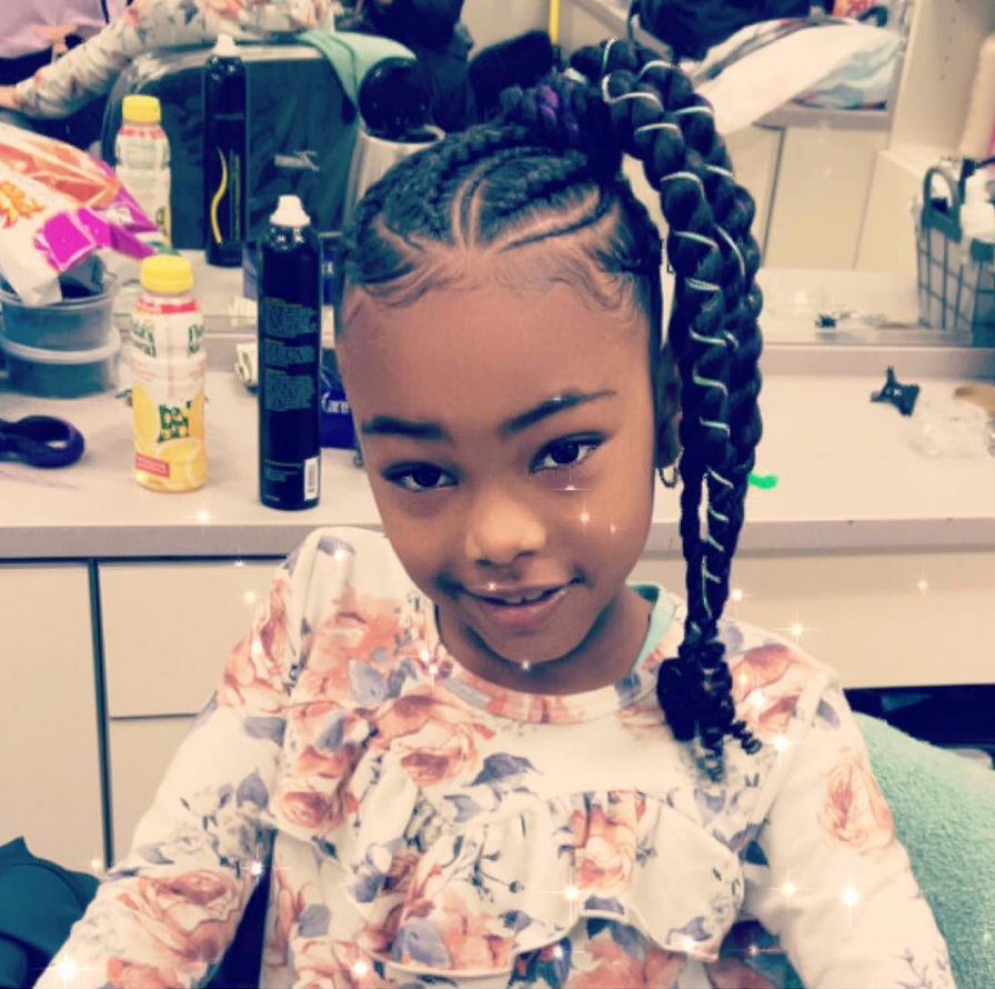 Jumb Braids From Summer Camp To The Beach These Styles Are Perfect For Kids Natural Hair Styles Natural Hairstyles For Kids Kids Braided Hairstyles