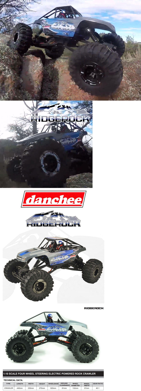 Danchee RidgeRock 1//10 Scale Electric Crawler