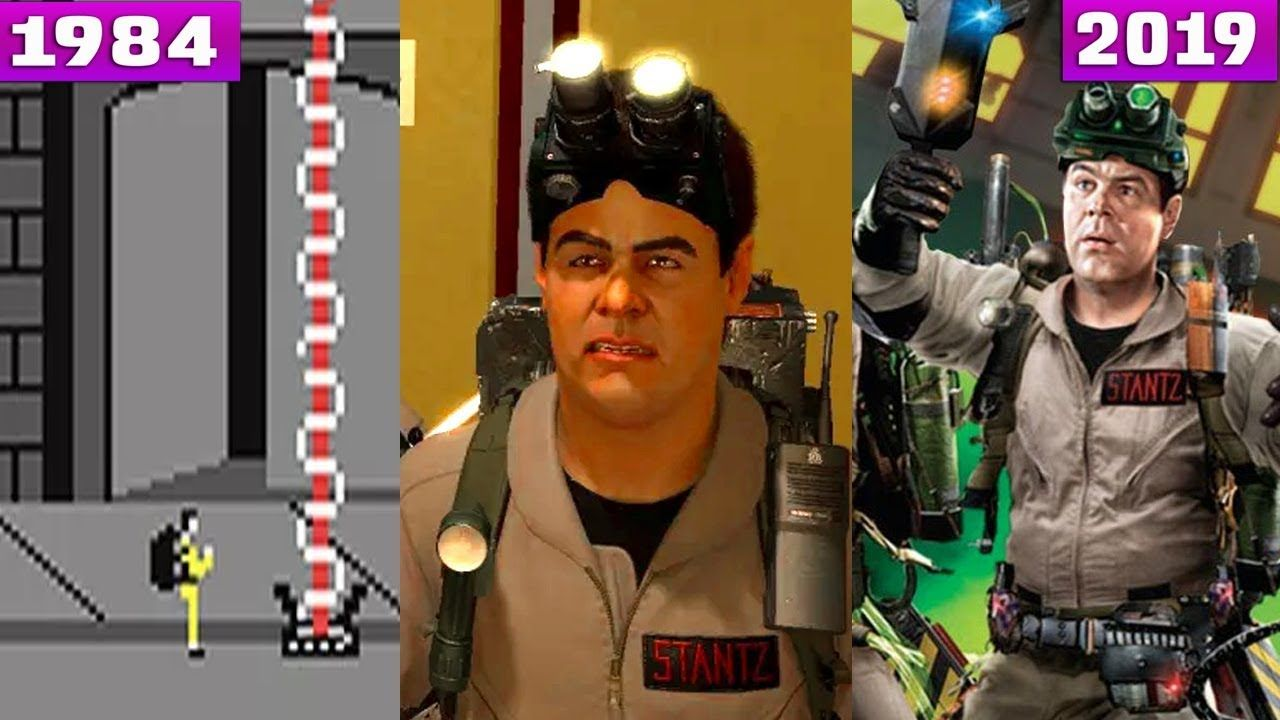 The Evolution History Of Ghostbusters Games 1984 2019 4k