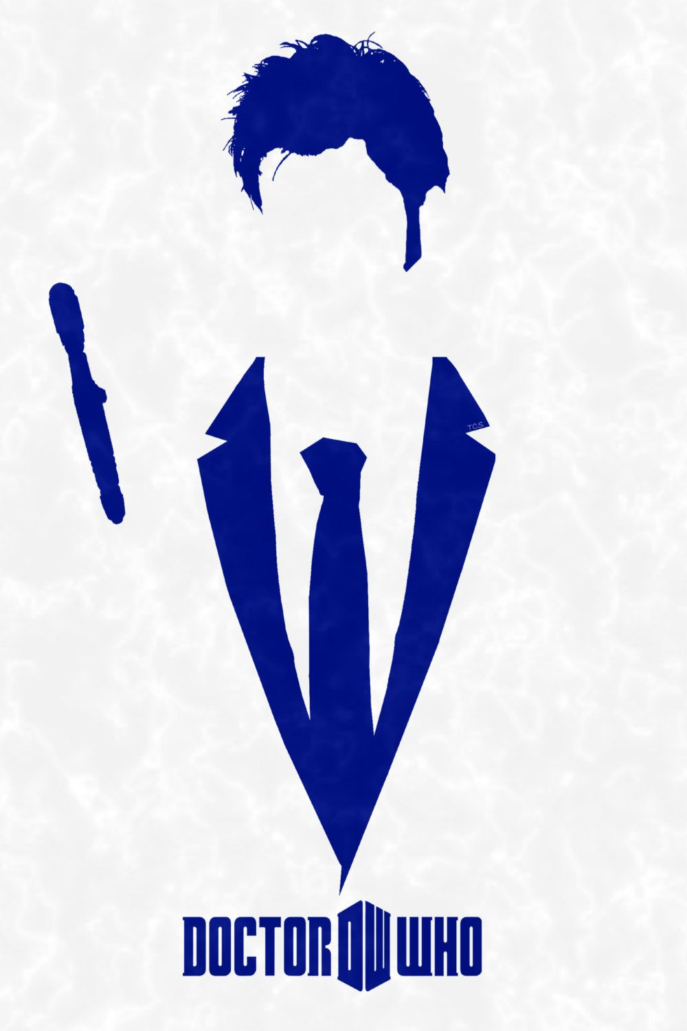 medium resolution of doctor who 11 x 17 silhouette 10th doctor by printsofthenerds 15 00