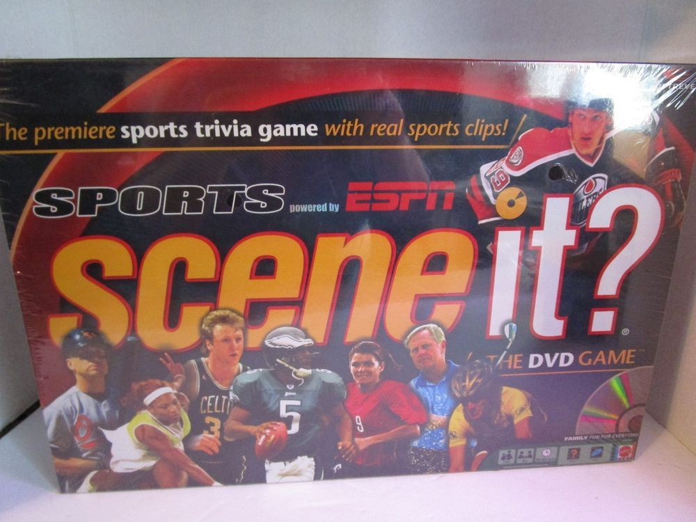 NEW 2005 Sports ESPN Scene it? The DVD Trivia Board Game