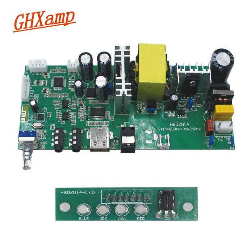 GHXAMP 2 1 Subwoofer Bluetooth amplifier board (2*15W Treble