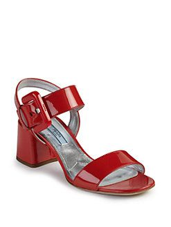 Patent Leather Sandals Spring/summer Prada H9WN5