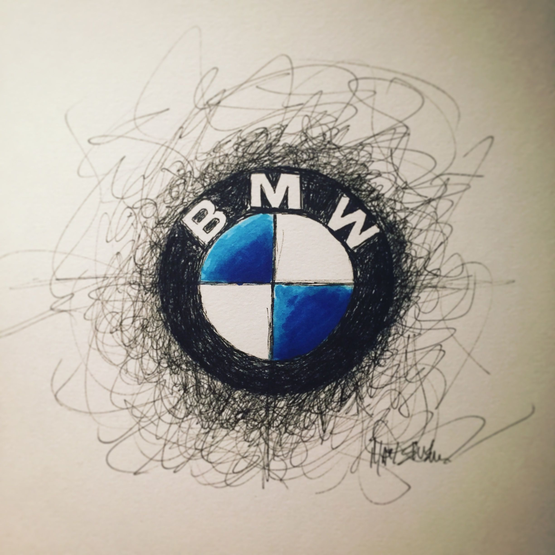 bmw logo drawing ℛℰ i ℕnℰd by averson automotive group llc auto