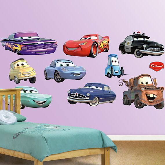Disney Cars Collection Fathead Wall Sticker Wall Sticker Outlet - Disney cars wall decals kids rooms
