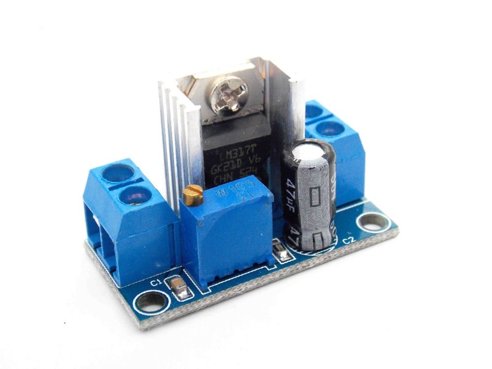 new lm317 dc dc step down dc converter circuit board power supply rh in pinterest com