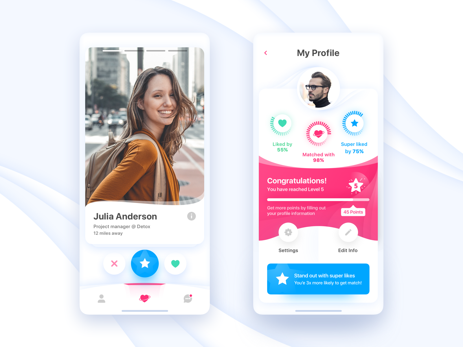 DatingMatching app (With images)