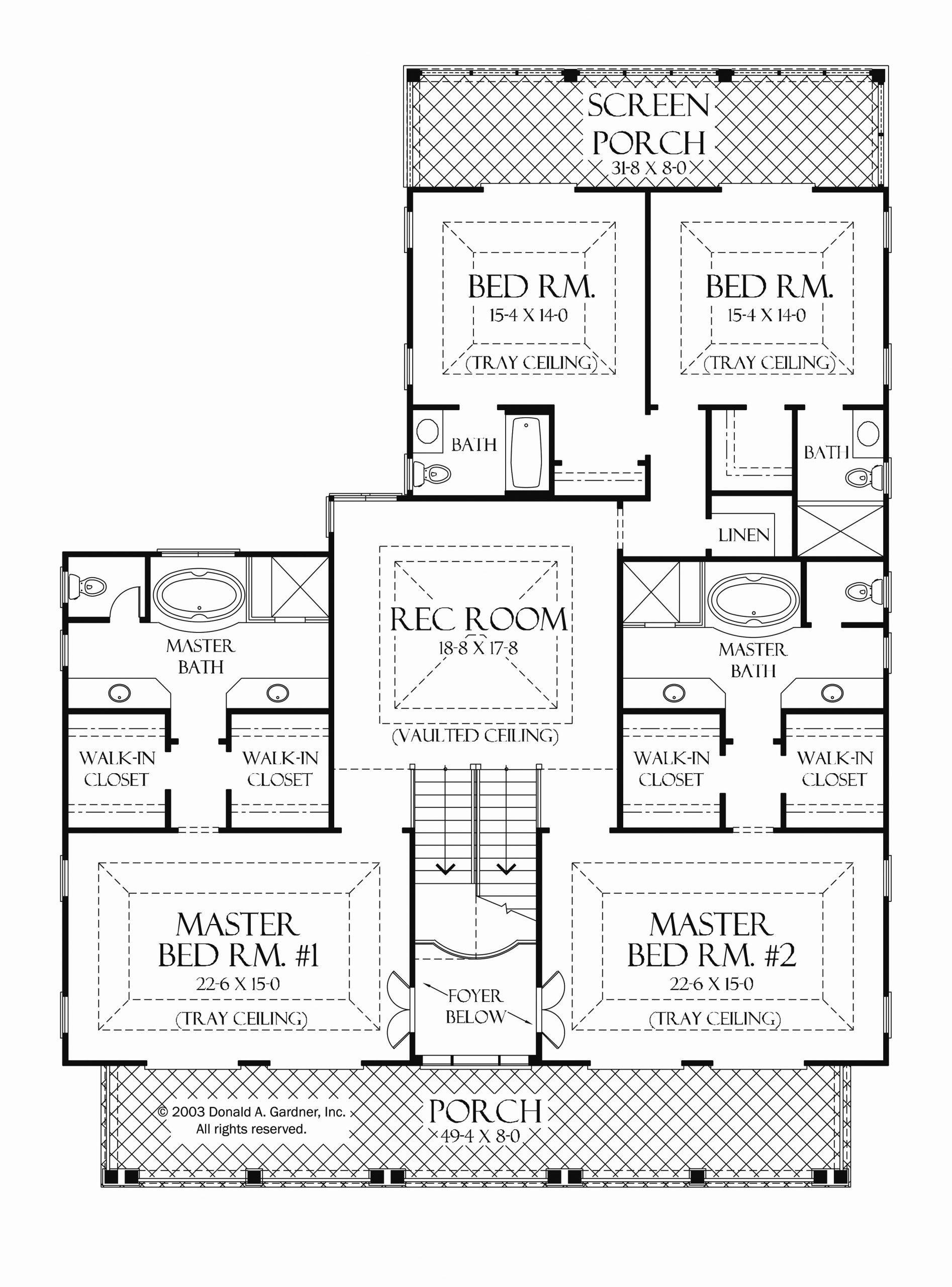 Dual Master Bedroom House Plans New E Story House Plans With Two Master Suites Luxury 13 House Bedroom House Plans Bedroom Floor Plans Master Bedroom Bathroom