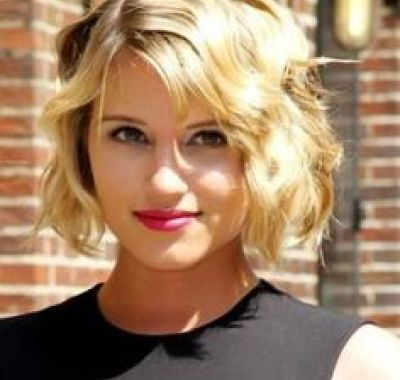 short hairstyles thick wavy hair oval face  rambut