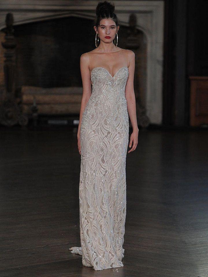 Berta strapless wedding gown with sweetheart neckline | itakeyou.co.uk #wedding #weddingfashion #bridal #weddingdress #weddinggown #bridalgown #weddingdresses #weddinggowns #berta #bridalinspiration #weddinginspiration #engaged