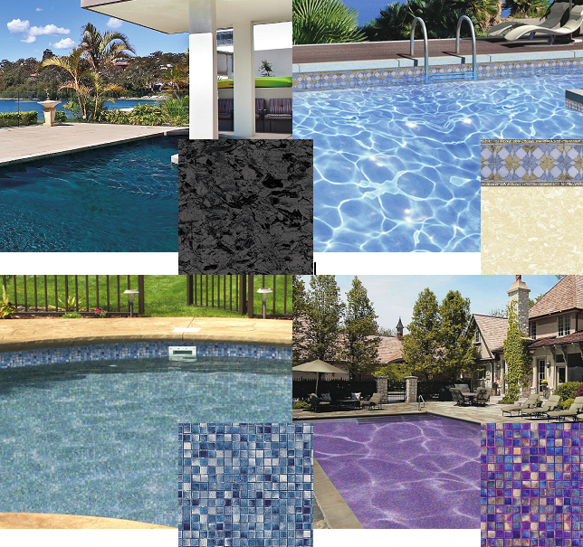 Loop Loc S New And Exclusive Pearlessence Line Of Swimming Pool Liners Are Infused With Iridescent Inks That Leave The L Pool Liners Pool Vinyl Pools Inground