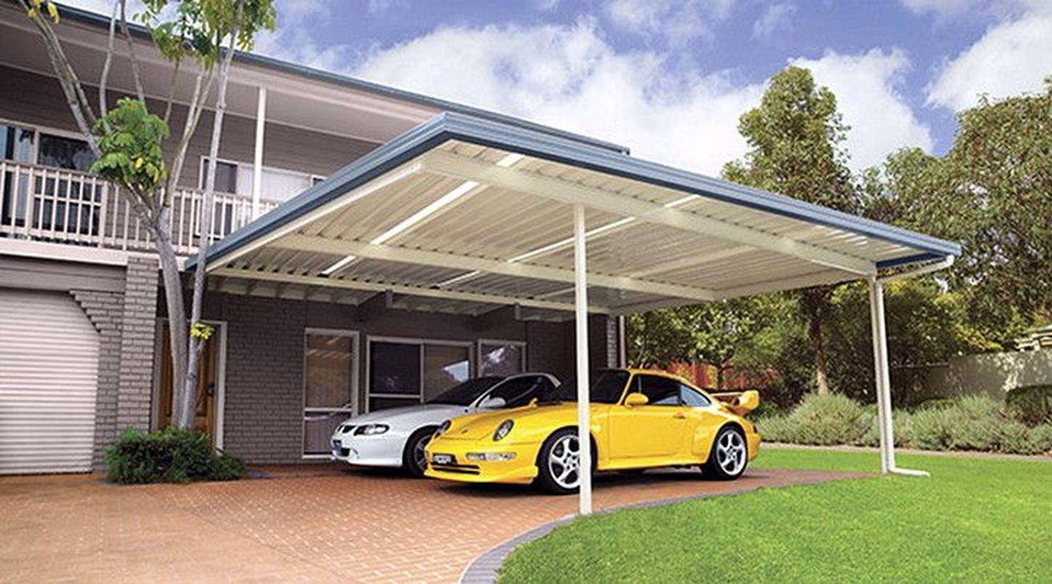54 Cool Car Garage Design Ideas For Minimalist Home Carport Designs Garage Design House Architecture Design