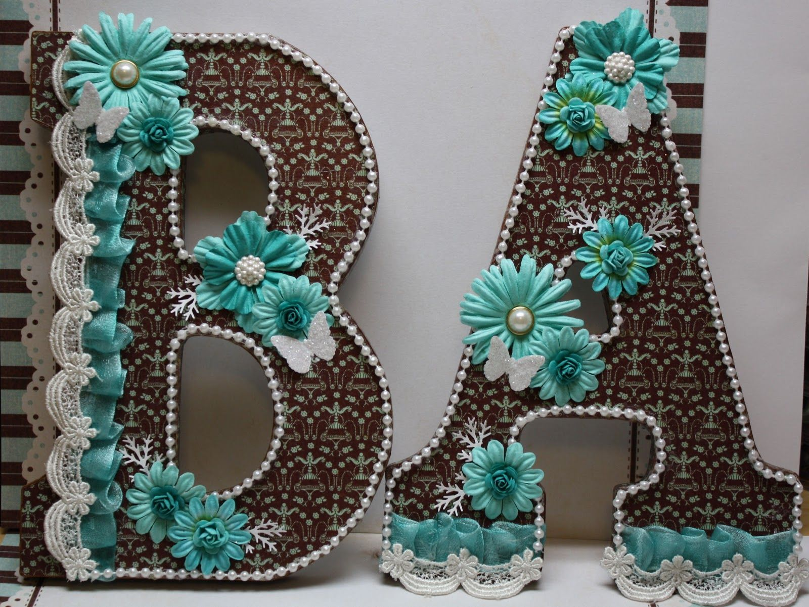 Wooden letters for crafts - Scrappygal S Scraphappening S Altered Wooden Letters
