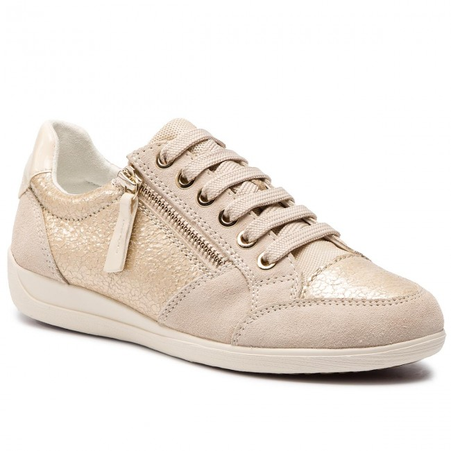 pedal Comienzo barbilla  Sneakers GEOX - D Myria B D8468B 0KY22 C2L5K Lt Gold/Cream - Sneakers -  Zapatos - Zapatos de mujer - zapatos.es | Sneakers, Geox, Zapatos