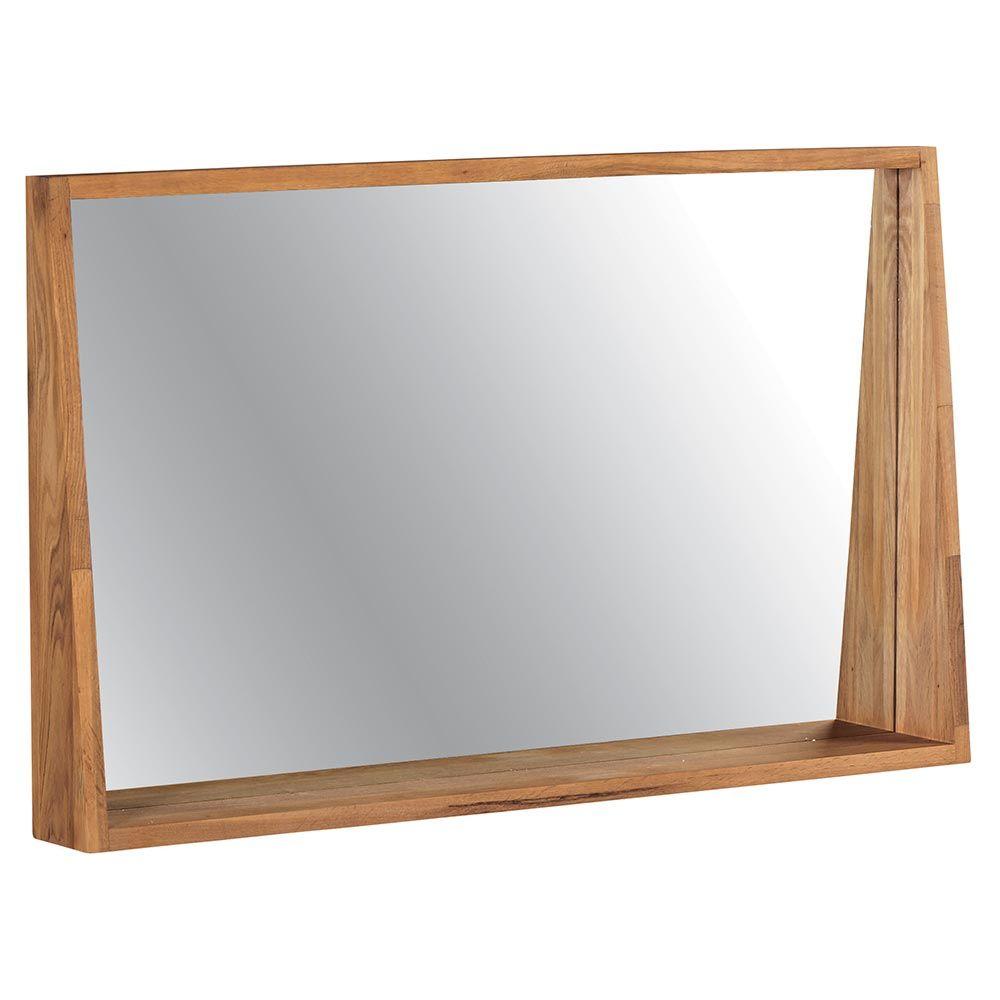 miroir en ch u00eane pour salle de bains