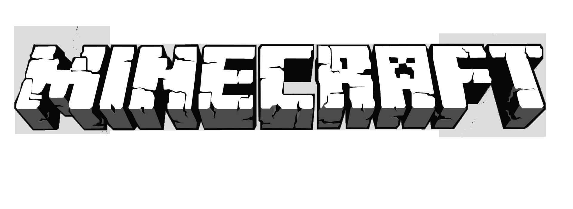 Minecraft Logo Transparent แฟนพันธุ์แท้