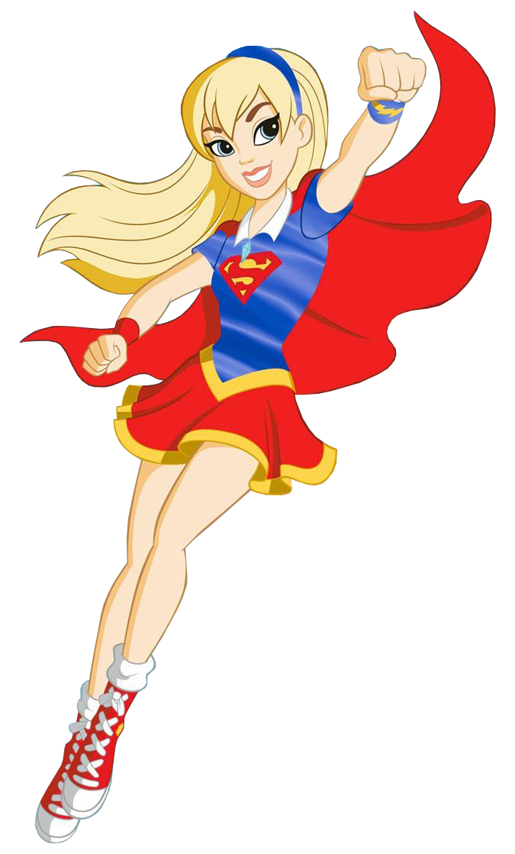 SUPERGIRL DC Super Hero Girls Costume Pour Enfants Enfants Costume Original