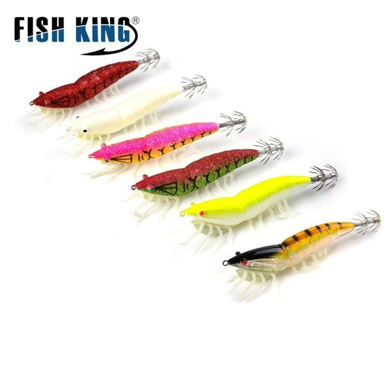 1Pc Fish Hook Luminous Squid Hook Fishing Tackle Lure Squid Jig Lure with Hook