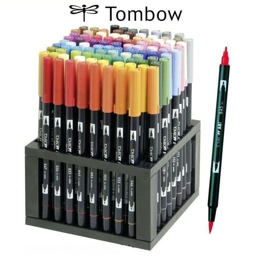 Tombow Dual Brush Pen Ab S 96c Tischstander Tombow Marker