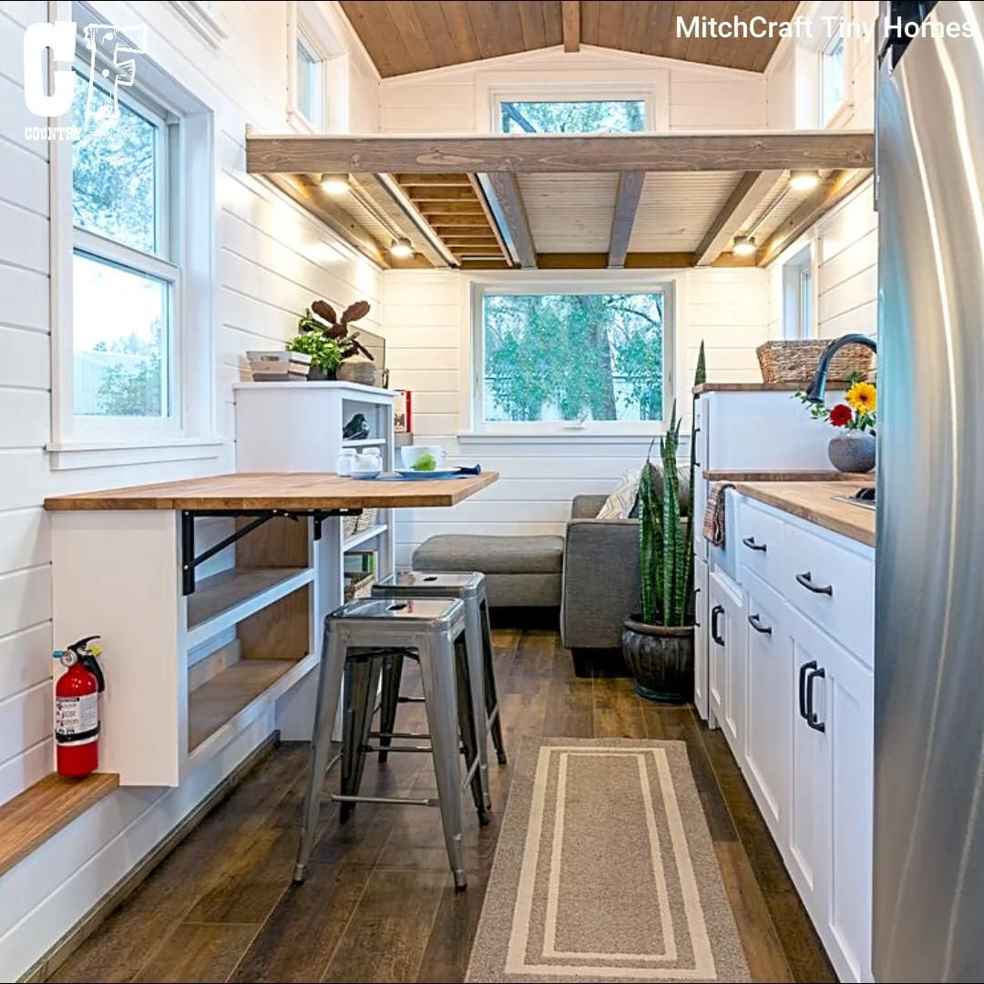 Photo of Tiny house with stunning art design on the outside