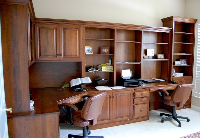 Built in desk unit dutch haus custom furniture sarasota Built in home office designs