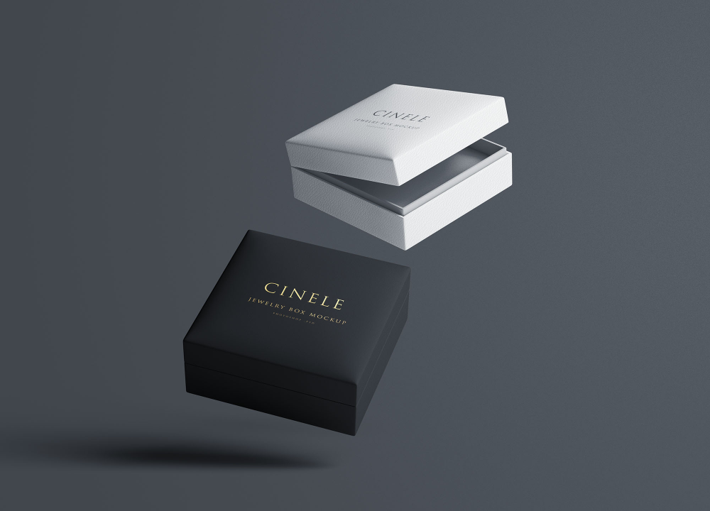 Download Jewelry Box Mockup Jewelry Packaging Design Free Jewelry Box Mockup