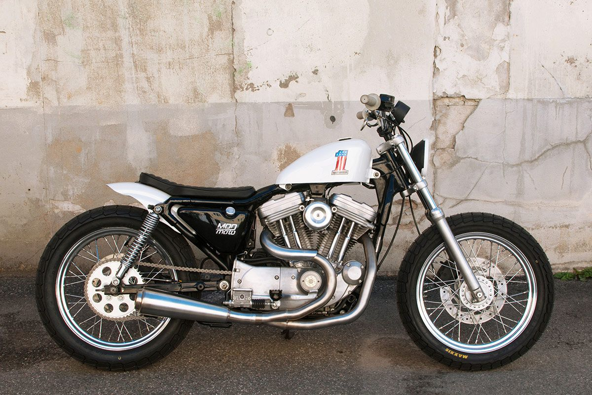 Evel Knievel Replica Harley Davidson Forums: Rigid_EVO Bratstyle Japanese Influence Bike Photos