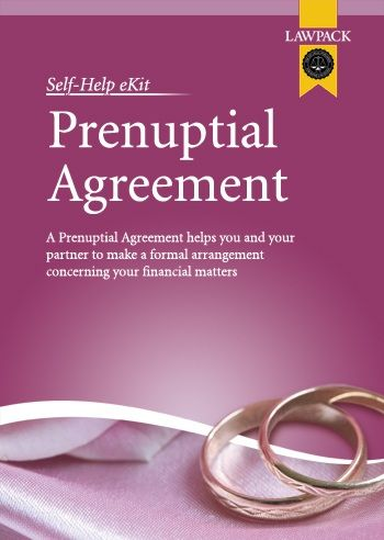 Sharing Prenuptial Agreement Ekit Valid In England And Wales From