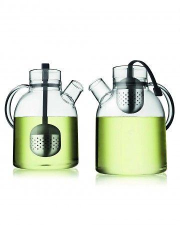 Combo tea kettle and teapot