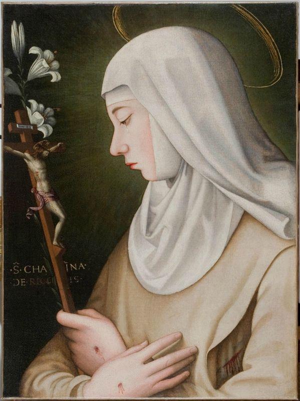 Suor Plautilla Nelli, Santa Caterina de' Ricci, olio su tela, Siena, Convento di San Domenico
