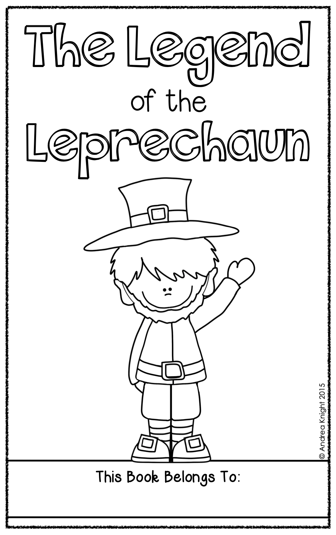 The Legend Of The Leprechaun A Holiday Student Book For