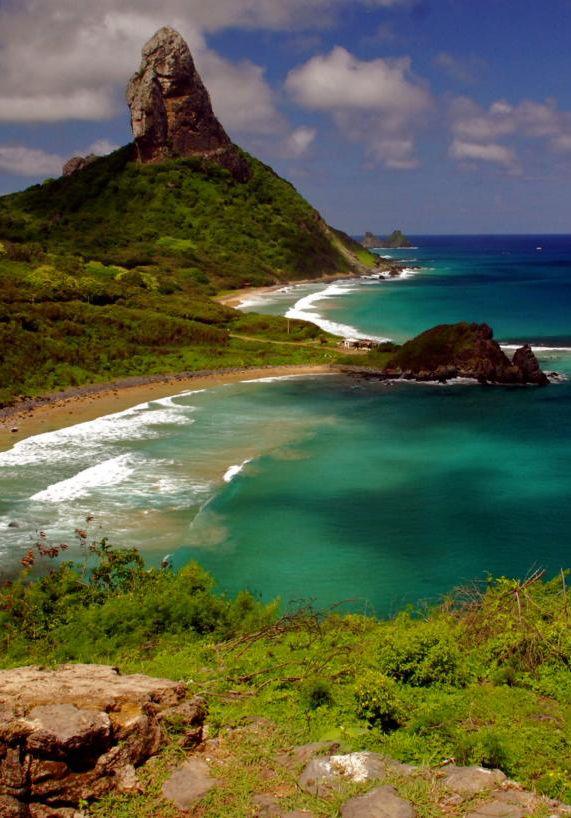 Fernando de Noronha Island, Brazil: via Brazilian Atlantic ...