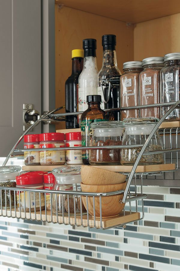 Lowes Spice Rack Impressive Diamond At Lowes  Cabinet Interiors  Pull Down Spice Rack Decorating Design