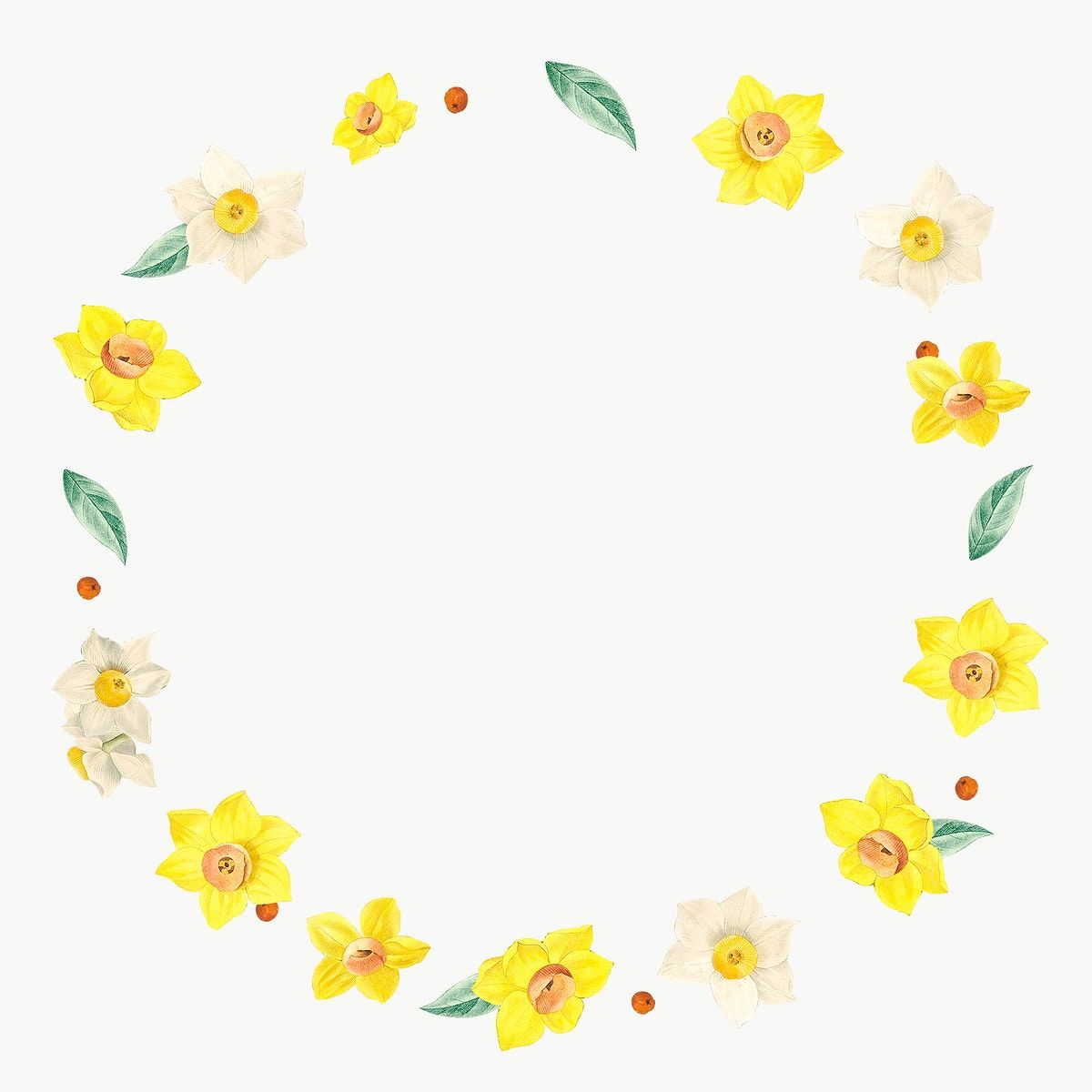 Round Mixed Flowers Frame Patterned Transparent Png Premium Image By Rawpixel Com Kappy Kappy In 2021 Flower Illustration Flower Frame Flowers