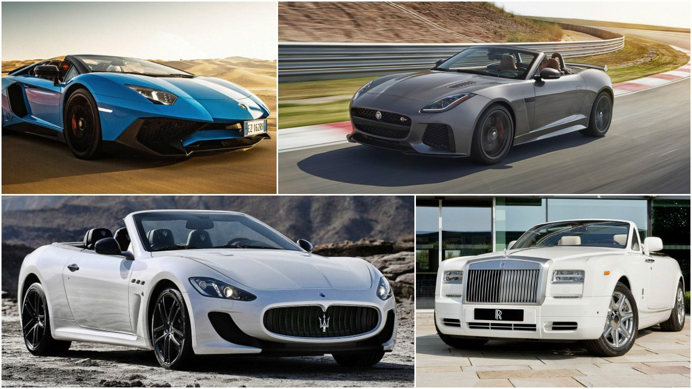 The 11 Most Expensive Convertibles In The World Luxury Cars Most Expensive Convertible