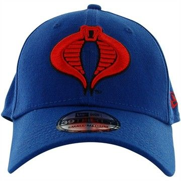 01deff0ed81 GI Joe Cobra 39THIRTY Hat - All BLUE Hat with RED Cobra logo! This is what  the Cobra