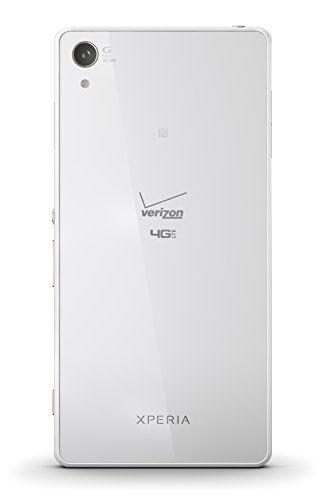 Sony Xperia Z3v, White 32GB (Verizon Wireless)