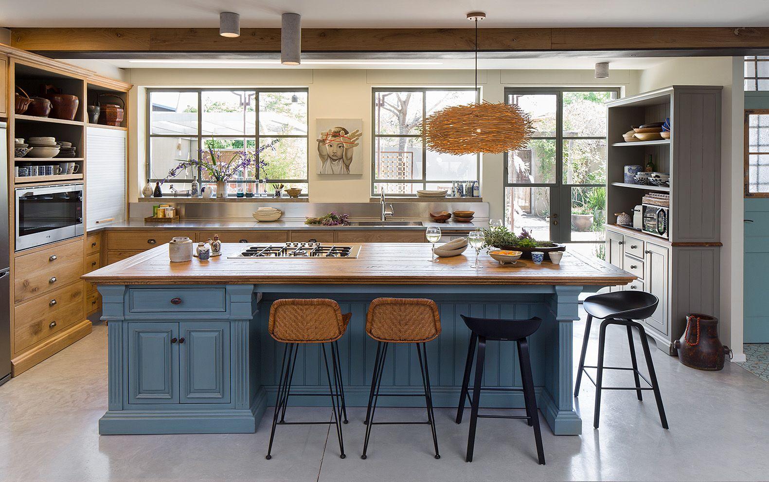 Solid Wood French Oak Kitchen By Touchwood Fine Traditional Woodwork מטבח כפרי מעץ אלון צרפתי טאצ ווד מטבחים כ Eclectic Kitchen Country Kitchen Kitchen Design